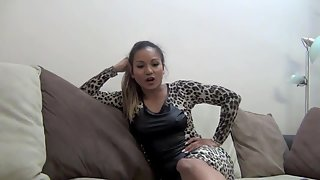 AsianMeanGirls - Goddess Lana - Ball Busting Is Your Salvation